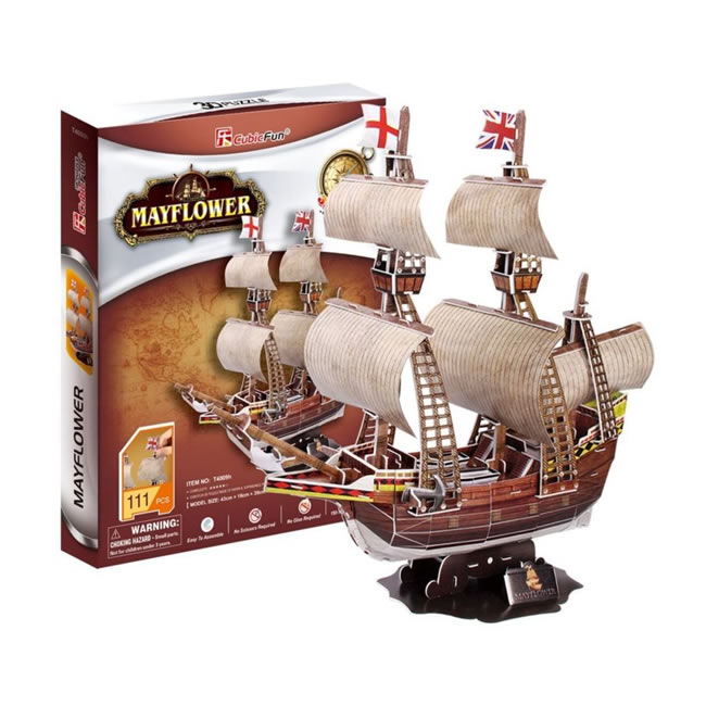 3D PUZZLE - LOĎ MAYFLOWER